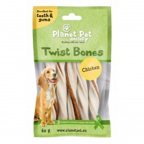 Planet Pet Chicken Twist Bones - 60 gram