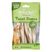 Planet Pet Lamb Twist Bones - 60 gram