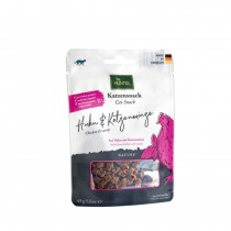 Hunter Snacks Kat Nature, Kylling-Catnip 45g